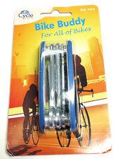 MULTI FUNCTIONAL BIKE BUDDY FOR BIKES STEEL CYCLE LOCK BICYCLE BIKE BUDDY TOOL