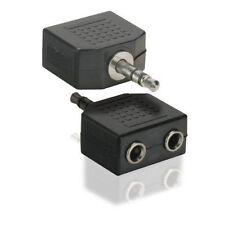 Câbles audio et adaptateurs avec un connecteur Jack mâle 3,5 mm 1: 2