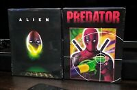 Alien & Predator Blu Ray Limited Edition Deadpool Slipcover **Factory Sealed!