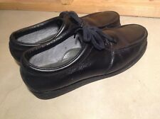 """RED WING Men""""s Leather Steel Toe Black Oxford Lace Up Shoes USA Made size 14 EE"""
