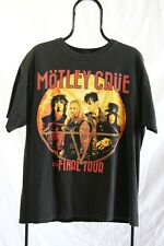 Motley Crue 2015 The Final Tour Concert T Shirt (L)