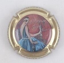 capsule champagne FOURRIER philippe robe bleu pâle n°22d contour or pâle