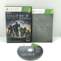 Halo Reach Xbox 360 Complete With Manual NTSCJ Pal Compatible Aus Seller