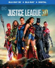 Justice League 3D 01/18 3D (used) Blu-ray Only Disc Please Read