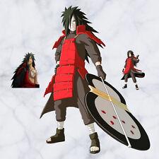 Naruto Uchiha Madara Anime Manga 3D Wandtattoo Wandaufkleber Wandsticker 90X60CM