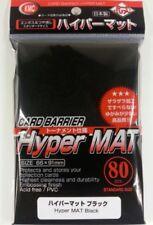 FUNDAS KMC HYPER MAT BLACK - NEGRO (80 unidades) - MTG