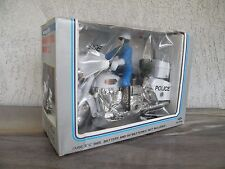 NOS Vintage Highway Patrol Super Cycle~Chips Motorcycle Police~Battery Toy