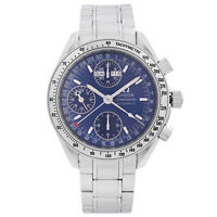 Omega Speedmaster Day-Date Steel Blue Dial  Automatic Mens Watch 3523.80.00