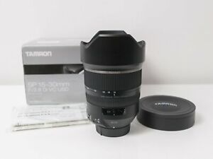Tamron 15-30mm F2.8 Di VC USD SP Lens for Nikon F Mount ~As New Condition