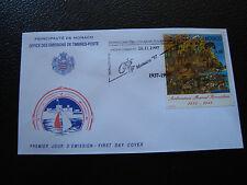 MONACO - enveloppe 1er jour 28/11/1997 (evenement) (cy63)
