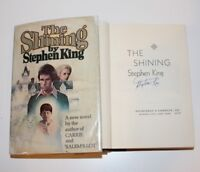 STEPHEN KING FLAT SIGNED 'THE SHINING' 1ST/1ST EDITION PRINTING HC BOOK R49 COA