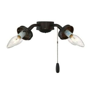 Savoy House Fitter Fan Light Kit, English Bronze - FLC418-13