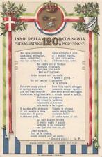 C3005) WW1 1917, INNO DELLA 120 COMPAGNIA MITRAGLIATRICI 907 F.