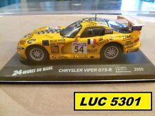 CHRYSLER VIPER GTS-R LE MANS 2000 PAR IXO POUR ALTAYA AU 1/43