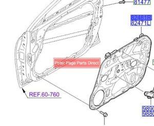 Genuine Hyundai New RHF Door Window Regulator for Hyundai i30 11/2007-03/2012