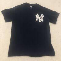 New York Yankees Giancarlo Stanton Jersey Shirt Adult Medium Blue Men's MLB *