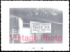 Skelly Service Station Blower & Bunker Truck Ice Twin City - Vintage 1958 Photo