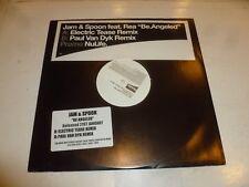 "JAM & SPOON feat REA - Be.Angeled - 2001 UK 2-track 12"" Vinyl Single"
