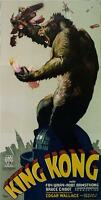 King Kong 3 Sheet Movie Poster 1933 Fine Art Lithograph Hand Pulled S2