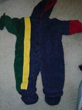 LONDON FOG BOYS 24 MONTHS ONE PIECE SNOWSUIT/JACKET - VERY WARM - USED