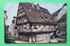 AK Ulm 1905-20 Haus a d Blau Kind Fachwerk Häuser Gebäude Straße Brücke uvm W3