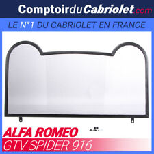 Filet coupe-vent, windschott pour roll bar Alfa Romeo GTV Spider cabriolet - TUV