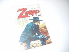 LA FRUSTA DI ZORRO N. 8 CERRETTI EDITORE 1978 No Diabolik !!!