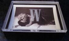 W Women Magazine MODEL Print Ads CARDS Lot x12 KATE MOSS Erichsen Rocha SASHA +