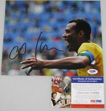 CAFU Brazil Legend Hand Signed 8'x10' Photo + PSA DNA COA F64465
