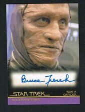 Bruce French as Son'A Officer signed auto 2010 Star Trek Insurrection A85