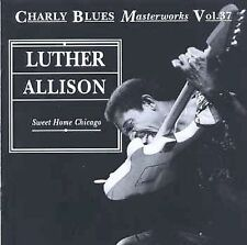 LUTHER ALLISON - Sweet Home Chicago (CD 1993)Charly Records