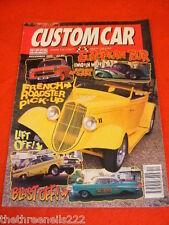 CUSTOM CAR - FRENCH ROADSTER PICK UP - DEC 1996