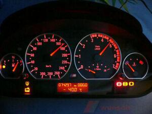 Tachoscheibe für Tacho BMW E46 Diesel M3 Optik ohne Tachojustierung Top.