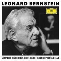 BERNSTEIN,LEONARD-THE COMPLETE RECORDINGS ON DG (LIMTED EDITION) 157 CD+DVD NEU