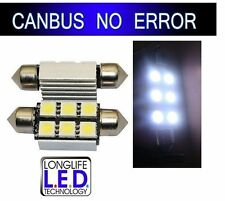 KIT 2 AMPOULE 6 LED SMD PLAQUE IMMATRICULATION VW GOLF 4 5 TUNING