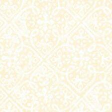 Maywood Paradise Mas 8457 E Cream Embossed Tonal Cotton Fabric