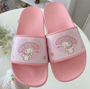 Cute Women Melody Summer Indoor Ourdoor Soft Bathroom Slippers Shoes (US 7-7.5)