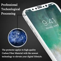 [Ultra-HD] Sensitive Anti-Bubble Scratch Proof 3D Full Tempered Glass iPhone10 X