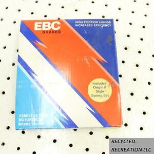 1982 KAWASAKI 305 CSR DRUM BRAKE SHOES EBC BRAKE SHOES EBC 706 EBC706