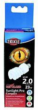 TRIXIE 76033 Sunlight Pro Compact 2.0, UV-Lampada compatta Ø 60 × 152 MM, 23 W