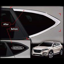 Chrome Window C Pillar Molding Trim For Hyundai All New Tucson 2016+ (Normal)