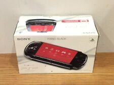 SONY PSP 3003 PIANO BLACK SLIM & LITE CONSOLE - BOXED Ship Worldwide