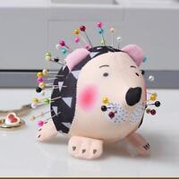 Handmade Kawaii Hedgehog Toy Pin Cushion Needle Storage Holder Fabric SS3