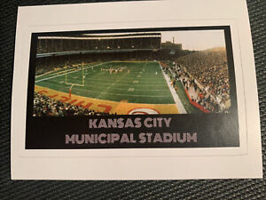 "Kansas City Chiefs Municipal Stadium Decal / Sticker 3.8"" x 2.3"" NFL Arrowhead"