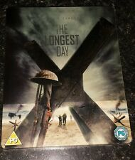 Blu-ray Longest Day Steelbook Edition New and Sealed