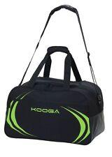 KOOGA ESSENTIALS RUGBY KIT BAG BLACK/LIME