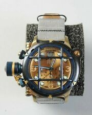 INVICTA 17344 MENS 52MM RUSSIAN DIVER NAUTILUS SWISS 18K GOLD PLATED