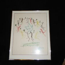 Pablo Picasso 'Dance of Youth' Peace Matted and Framed 22 x 28 Painting Print
