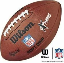 Wilson NFL Extreme Ballon de football américain à grip souple New