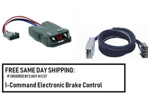 5504 Draw Tite Brake control with Wiring Harness 3070 FOR 2006-2019 Honda